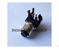 Ingke Ykm8 Ptb0204a Direct Substitute Te 3 2172068 2 4 P Female Circular Connector Receptacle