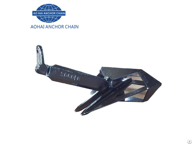 30000kg Marine Steel High Holding Power Delta Anchor With Abs Bv Dnv Lr Certificate