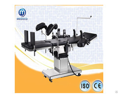 Medical Multifunction Surgical Bed Hydraulic Manual Operation Table Dt 12f New Type