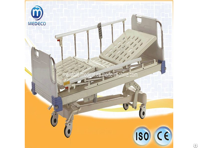 Medical Equipment Five Function Electric Icu Hospital Bed Da 8