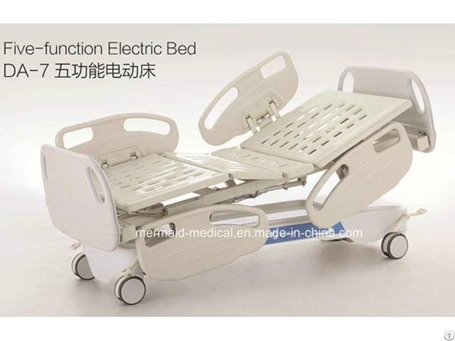 Medical Equipment Five Function Electric Hospital Bed Da 7 Ecom11