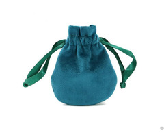 Luxury Soft Velour Jewelry Pouch