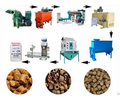 Fish Feed Machine Pellets Production Technology
