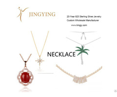 Sterling Silver Necklace Fine Jewelry Wholesaler