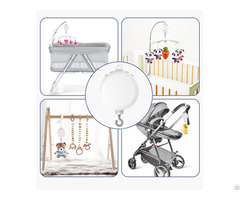 Baby Crib Mobile Music Box Battery Operated With 128m Tf Card Support Extended To 2gb