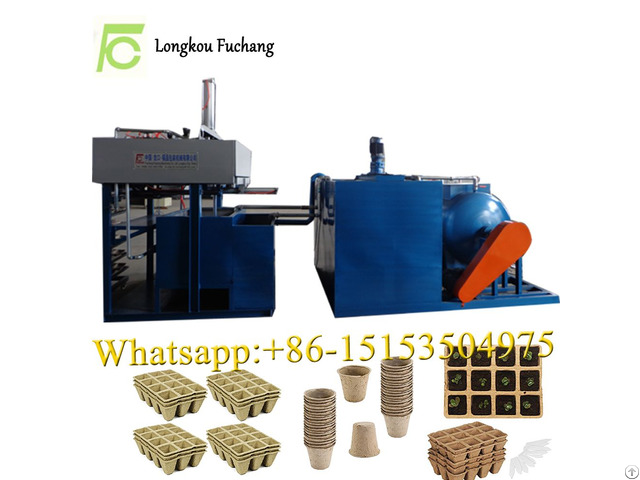 Paper Forming Seeds Cup And Flower Pot Making Machine