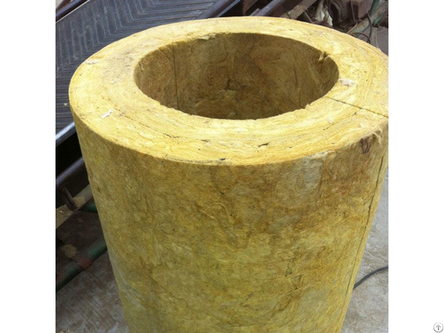 Heat Insulation Rock Wool Pipe
