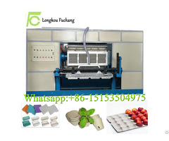 Eco Friendly Paper Pulp Molding Flower Pot Making Machine Seeds Cup Forming Machinery