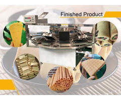 Main Purpose Of The Automatic Gas Egg Roll Machine