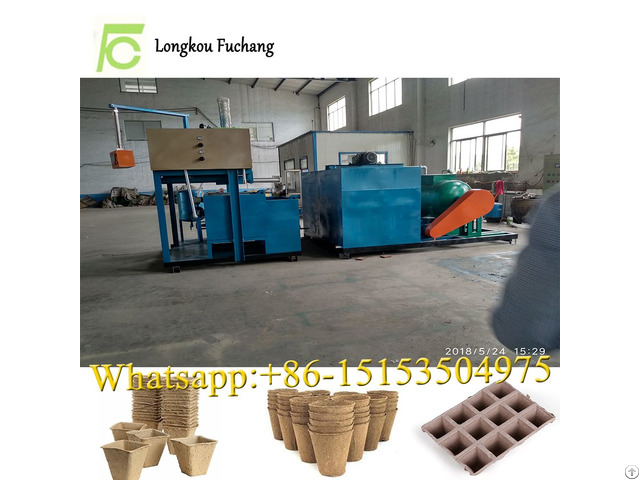 Paper Forming Flower Cup And Pot Making Machine