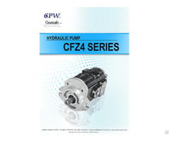 Cosmic Forklift Parts On Sale No 336 Cpw Hydraulic Pump Cfz4 Series Catalogue Size