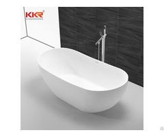 Hot Sale Luxury Bathroom Acrylic Freestanding Solid Surface Bathtub Kkr B090