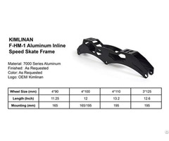 Factory Supply Professional Kimlinan F Hm 1 Aluminum Inline Speed Skate Frame