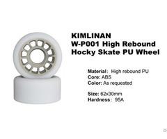 New Professional Kimlinan W P001 High Rebound Hocky Skate Pu Wheel