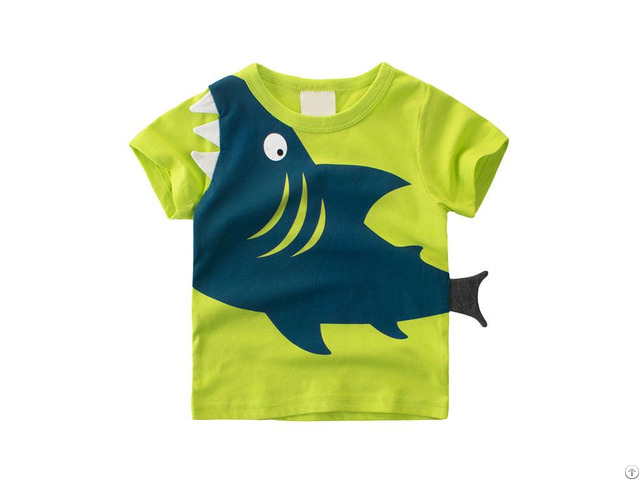 High Quality Summer Kids Clothes Cartoon Boys T Shirt