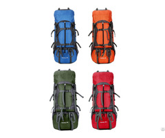 Hot Sale Hiking Mountain Camping Backpack Nylon Travel Bag Organizer