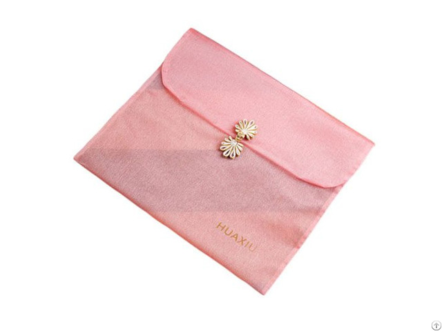 Organza Gift Bag With Clasp
