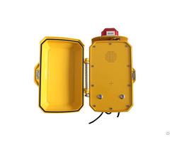 Corrosion Resistant Vandal Proof Hands Free Phone Analog Telephone In Clean Room Jwat410