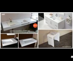 Wall Hung Bathroom Stone Resin Acrylic Solid Surface