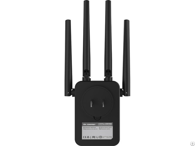 1200mbps High Quality Wireless Wr754 Wifi Repeater Range Extender
