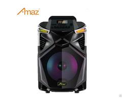 New Arrival Wireless Karaoke Bluetooth Outdoor 15inch Trolley Speaker