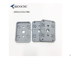 160x115x17mm Top Vacuum Suction Plates Upper Cover Gasket For Cnc Router