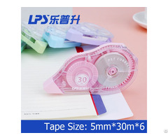 Large Capacity Correction Tape 5 Piece In One Blister Card Big Comfortable