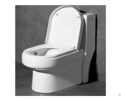 Floor Mounted Noiseless Closing Water Saving One Piece Toilet China