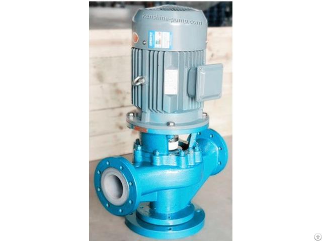 Gdf Fluorine Plastic Liner Pipeline Pump