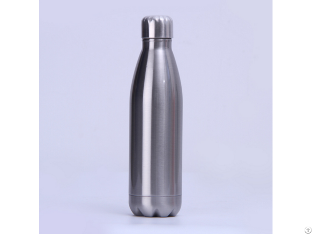 500ml Double Wall Stainless Steel Cola Flask Water Bottle