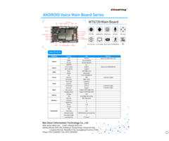 Mt6739 4g Android Ai Main Board 6mic Array For Robotic