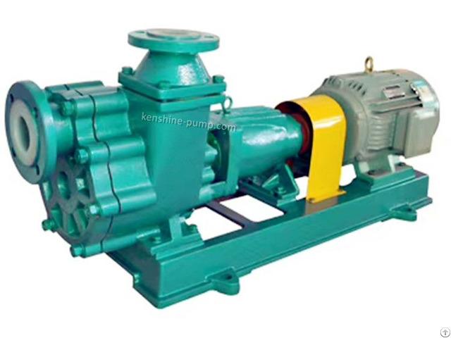 Fzb Fluorine Plastic Liner Self Priming Pump