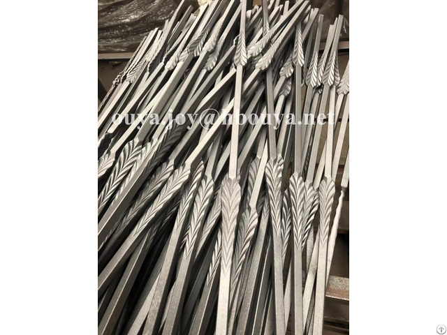 Popular Decorative Forged Iron Balusters
