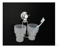 Low Moq Cheap Price Bathroom Mount Suction Cup Toothbrush Holder
