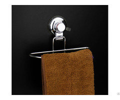 Dg Sf1011e A Vacuum Suction Cup Stainless Steel Bathroom Towel Shelf Rack