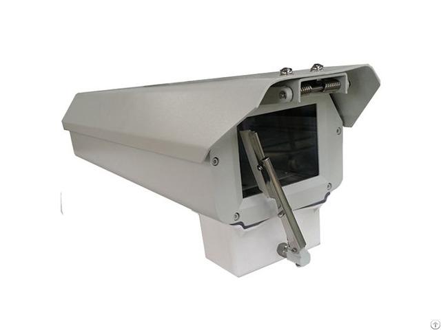 Large Dimension Aluminium Alloy Security Cctv Camera Housing With Wiper