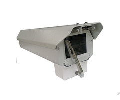Large Dimension Aluminium Alloy Security Cctv Camera Housing With Wiper