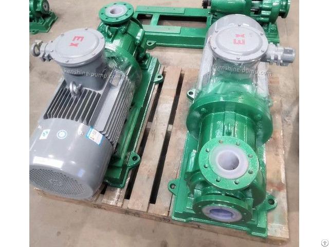 Cqb F Fluorine Plastic Liner Magnetic Chemical Pump