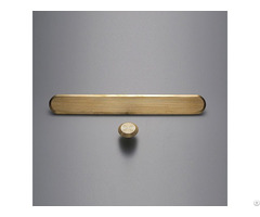 Brass Tactile Indicator Stud Strip
