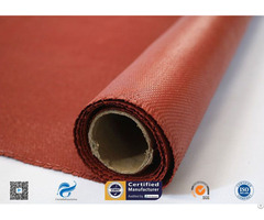 Heat Resistance Silicone Coated Fiberglass Fire Protection Cloth
