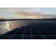 Water Mounted Solar Power System