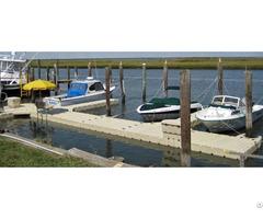 Custom Modular Floating Surfboat Boat Dock Marine System