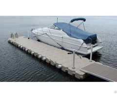 Modular Floating Boat Dock System For Residential Or Commercial Use