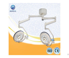 Ii Double Dome Ceiling Type Led Operating Cold Bulbs Shadowless Surgical Lamp