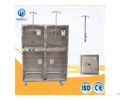 Economic Medical Combined Stainless Steel Pet Cage Mejy 01