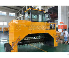 Compost Windrow Turning Machine