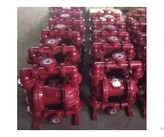 Qbk Cast Iron Lined With Fluoroplastic Pneumatic Diaphragm Pump