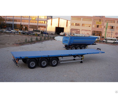 New Emirsan Brand Flatbed Container Transporter