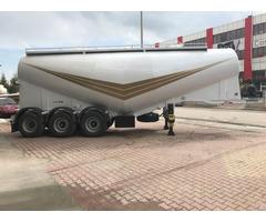 New Emirsan Cement Tanker Trailer