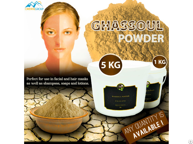 Moroccan Ghassoul Producer